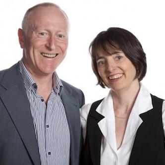 Stuard Newberry and Liz Scott